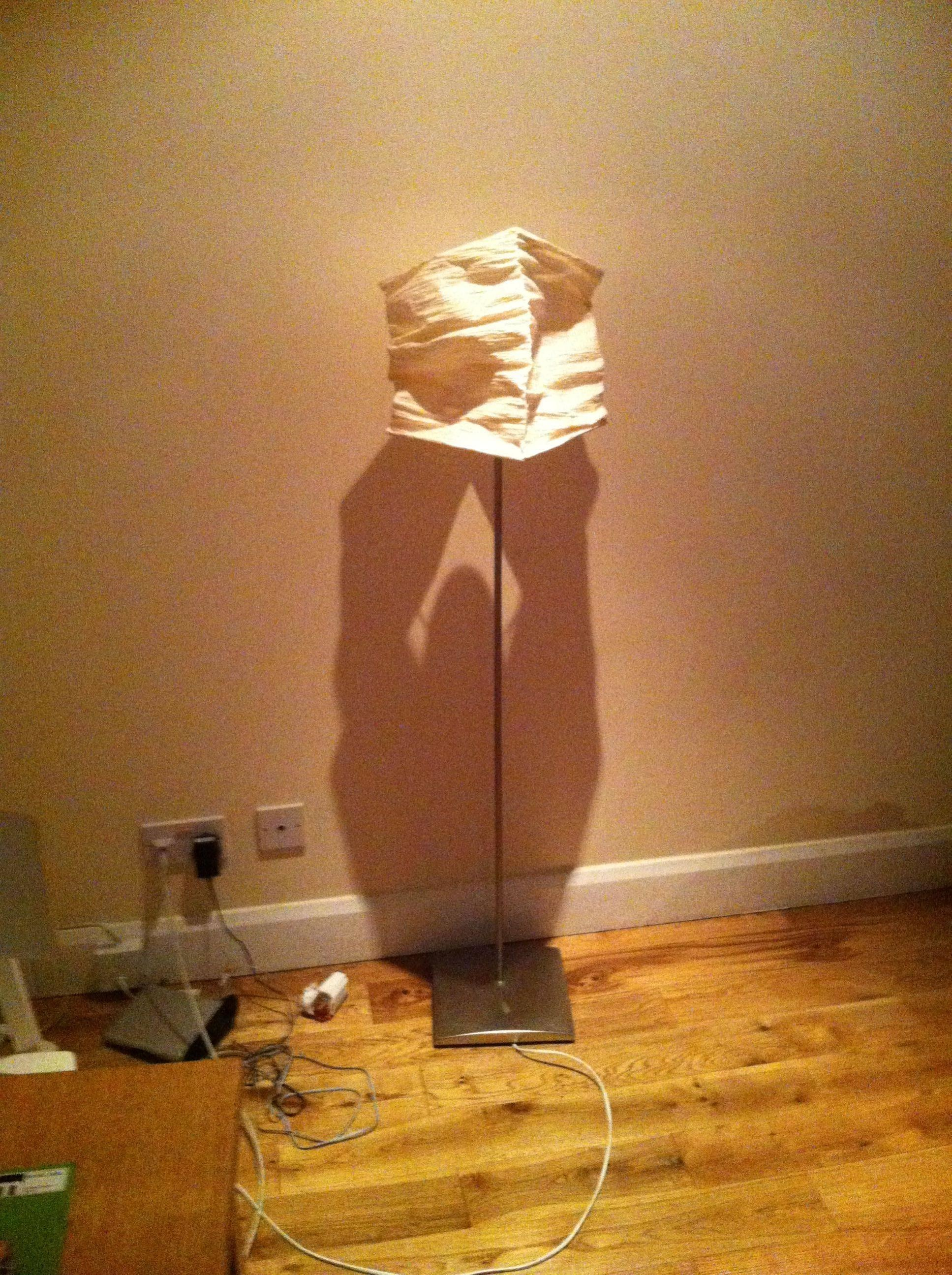 Lamp, or old-timey muscle man?