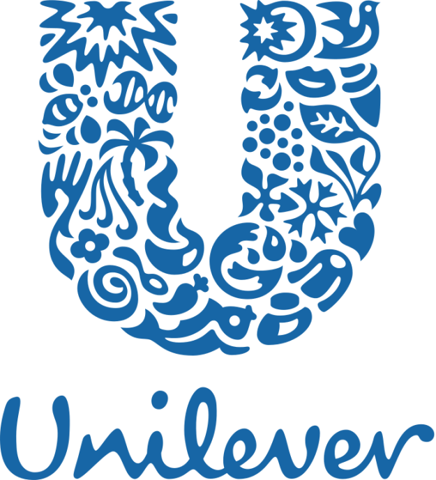 And finally, have you ever taken a close look at the Unilever logo? It's got a little bit of everything, and each little icon is meant to represent a different aspect of sustainable living.