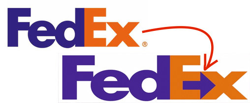 "Between the ""E"" and ""X"" there's a hidden arrow that points to the right. It's meant to represent motion and efficiency."