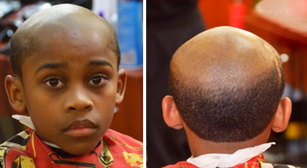 Balding Man's Haircut: New Form Of Punishment For Your Misbehaving Kid