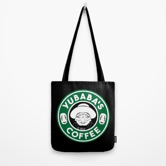 This tote that sells the right kind of drink: Yubaba's coffee.