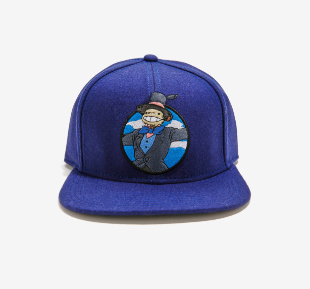 This snapback hat that pays a shimmery tribute to the forgotten hero, Turnip Head.