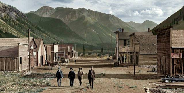 29 -  Colorado town in the late 19th century.