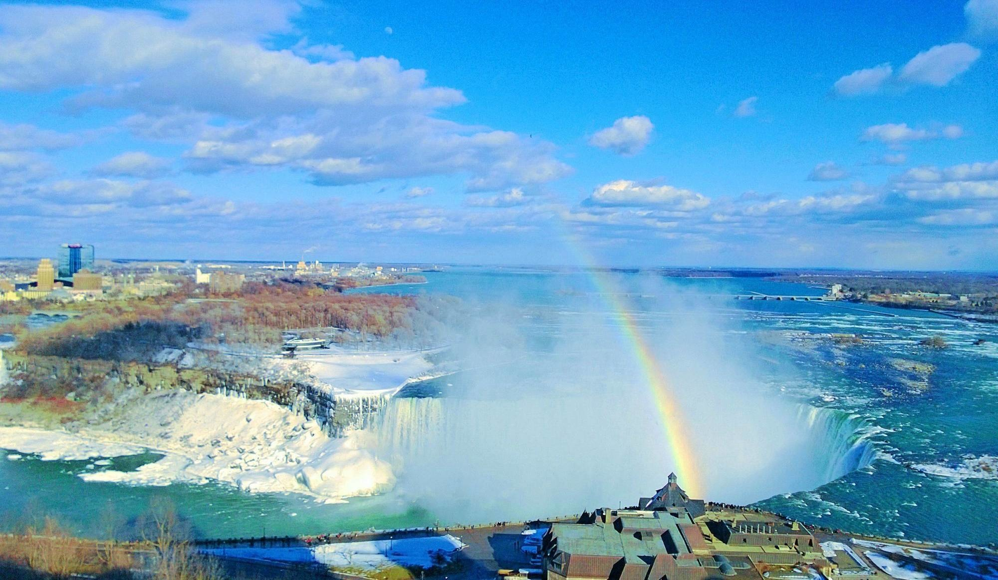Another excellent view of Niagara Falls.