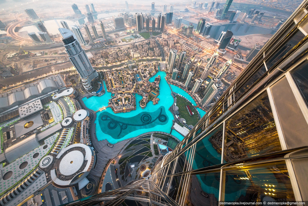 And finally, a view of Dubai like you've never seen it before.